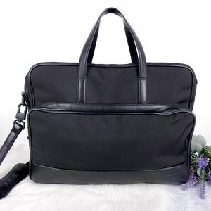 TUMI Black Briefcase Bag